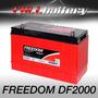 Batería Freedom Df2000 Estacionaria Ciclo Profundo Libre Man
