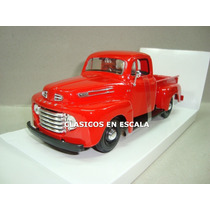 Ford F-1 Pick Up 1948 - Roja - Clasica - Maisto 1/24