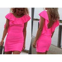 Vestido Corto De Lycra Super Sexy Y Elegante!!!