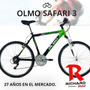 Bicicleta Olmo Rod 26 Aluminio Safari 3 2015- Richard Bikes