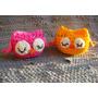 Amigurumis Buhos Tejidos Crochet Souvenirs Pack X 10 Iguales