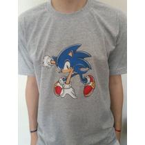 Remeras Estampadas Sonic!