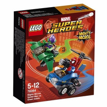 Educando Lego Marvel Super Héroes Spiderman Mighty Micros