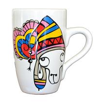 Jarro-taza Ceramica Carlota Grande - Almandina