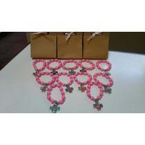 Denarios Perlas Engomadas X 10 U / Rosario (bolsita Cristal)