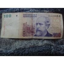 Billete De Cien Pesos Convertible Serie B. Blejer Maqueda
