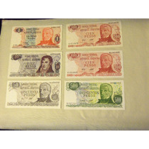 Billetes Antiguos Argentinos Impecables