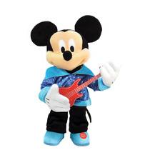 Peluche Mickey Mouse Guitarra Interactivo Disney Intek 38cm