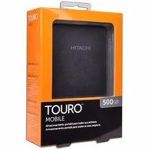Disco Externo 500 Gb Portatil Hitachi Touro Usb 3.0 Rosario