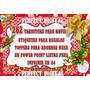 Kit Imprimible 262 Tarjetas Navidad Para Los Regalitos! 2x1