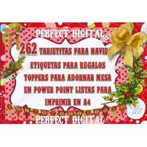 262 Tarjetas Navidad En Power Point Para Imprimir Tamaño A4