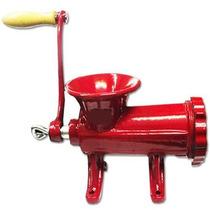 Maquina Picar Carne Fundicion Manual Metalica Nº 22 Picadora