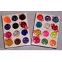 Set 12 Tonos Glitters Cola Sirena Nail Art Deco Uñas Flores