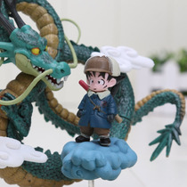 Figura De Coleccion Dragon Shen Long Y Goku - Dragon Ball Z