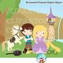 Kit Imprimible Enredados Rapunzel Imagenes Clipart