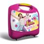 Educando Disney Soy Luna Lunchera Plástica Super Kit 3en1 Tv