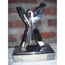 Trofeo De Clarin A Coca - Cola, Muy Coleccionable