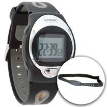Reloj Oregon Hr102 Monitor Cardiaco Pulsometro Soporte Bici