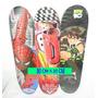 Patineta Skate Niños 4 Ruedas Grande C/ Motivos Infantiles