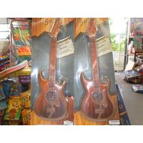 Guitarra Plastica Con Cuerdas Muy Buena En Blister 50 Cm.