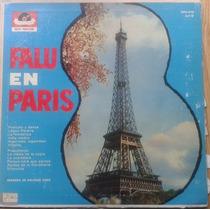 Vinilo Eduardo Falú En Paris