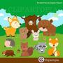 Kit Imprimible Animales Del Bosque Imagenes Clipart