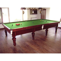 Mesas De Pool; Snooker Exclusiva De 1920