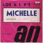 Los Vips Michelle Simple Vinilo Con Tapa Argentina