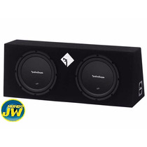 Caja Doble Subwoofer Rockford Prime R1 L-2x12 600 W Rms Jw