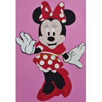 Figura Minnie En Goma Eva.