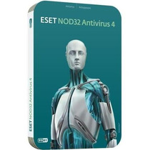 Eset Nod32 Antivirus Home 4 1pc X1año