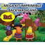 Mega Kit Imprimible Backyardigans