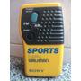 Radio Sony Sports Fm/am Walkman Srf-8 Audio Vintage 1988