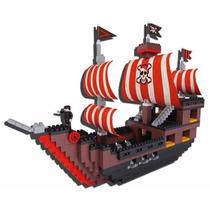 Blocky Barco Pirata 560 Piezas + 4 Muñequitos Articulados