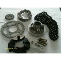 Kit 110cc (porta Corona, Kit, Zapata, Goma Maza, Tornillos)