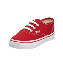 Zapatilla Vans Niño Authentic Ar0ee3red