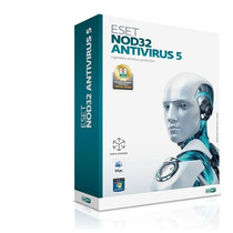 Eset Nod32 Antivirus Home 5 3pc X1año