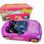 Barbie Auto Fashion Descapotable C/ Stickers -palermo -envío