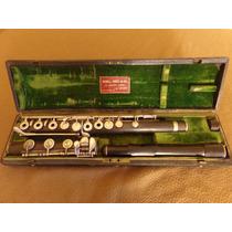 Flauta Barroca Rudall Carte & Co 23 Bernes Street London Eng