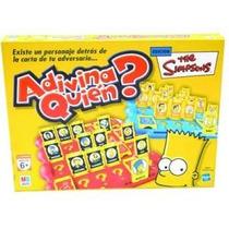 Juego De Mesa Adivina Quien? The Simpsons Hasbro / Z. Devoto