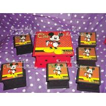 Souvenirs 1 Año,minnie Y Mickey,2 Años,cajas , Lapiceros
