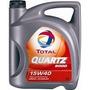 Aceite Total Quartz 5000 Mineral 15w40 Ideal Gnc 4lt Z.norte