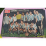 Antigua Lámina Central Mundo Deportivo Seleccionado Argentin