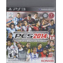 Pes 2014 Pro Evolution Soccer Ps3 Play Station- C/manuales
