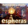 Hermosas Lamparas De Hilo Artesanales 80cm (55cm Diám Aprox)