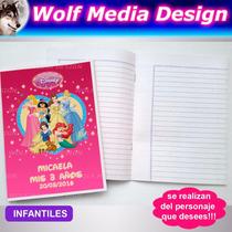 Cuadernos Personalizados Souvenir Infantil Adulto Publicidad