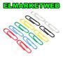 Clip Sifap Forrado Color N°6 X 500 Un.(10 Cajas X 50un)