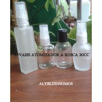 Envases Perfumeros , Atomizador 30cc , Esmerilados 10 X $
