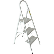 Escalera 3 Escalones Plegable Metal Super Resistente 75cm