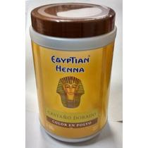 Henna Egyptian Polvo Pote X500g - Castaño Dorado - Marron